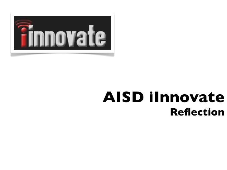 Innovate Closing
