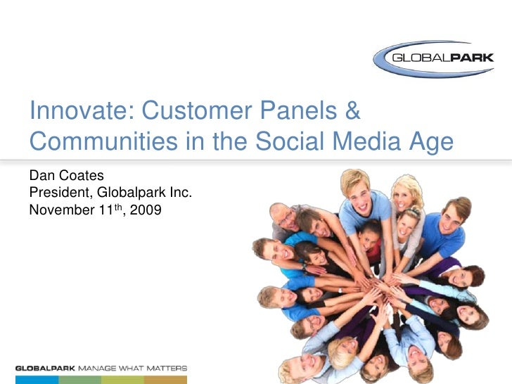 Innovate: Panels and Advisory Communities in the Social Media Age