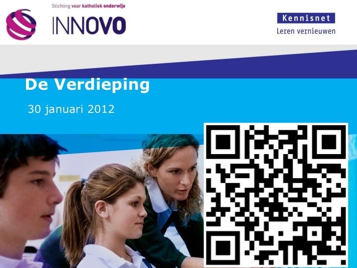 Innovaties en trends innovo 30 januari 2012