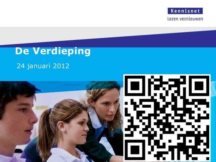 Innovaties en trends scoh 24 januari 2012