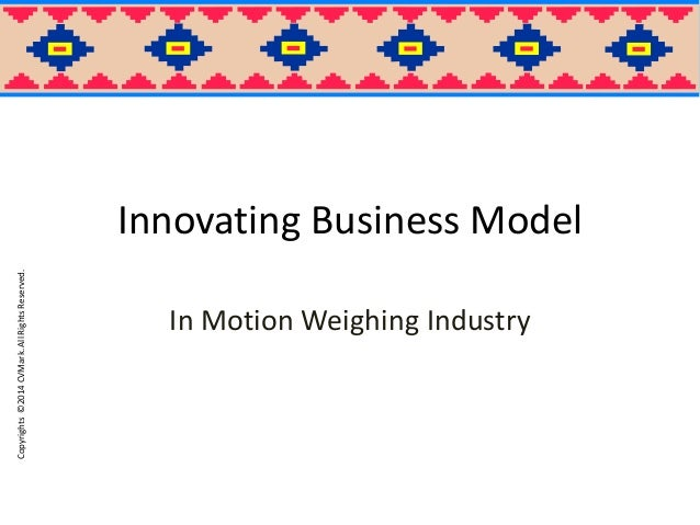 Innovating Business Model of System Integrators- In Motion Weighing