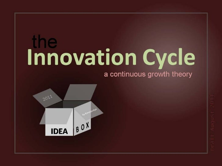 theInnovation Cycle         a continuous growth theory                                      Draft August 2011  IDEA
