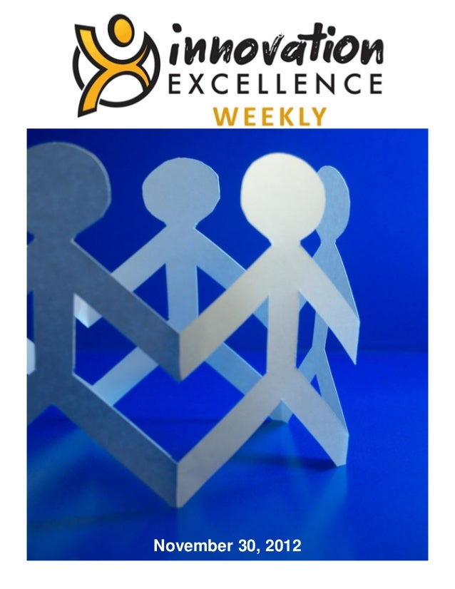 Innovation Excellence Weekly - Issue 9