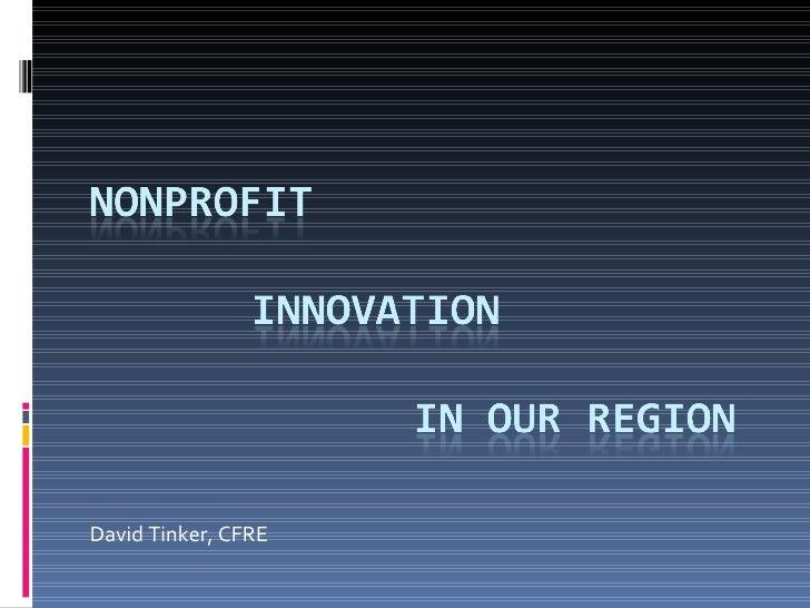 Innovation for INFR512