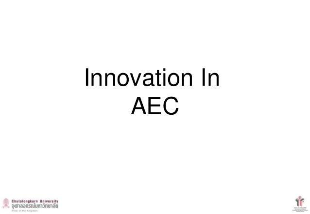 Innovation In AEC