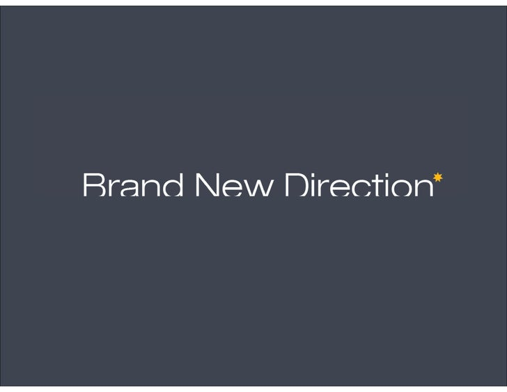 2009 Brand New Direction