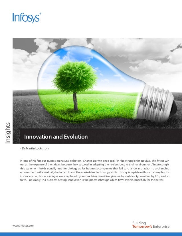 Infosys - Enterprise Business Innovation & Evolution | Corporate DNA
