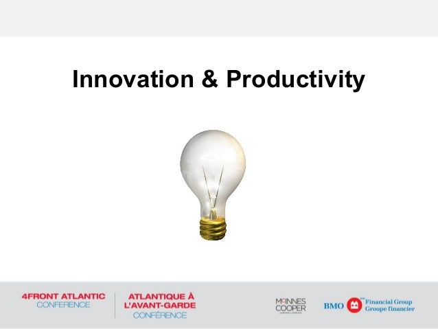 Innovation and productivity