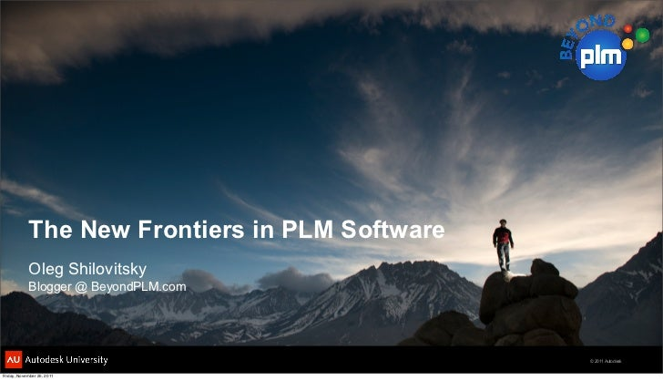 The new frontiers in PLM Software