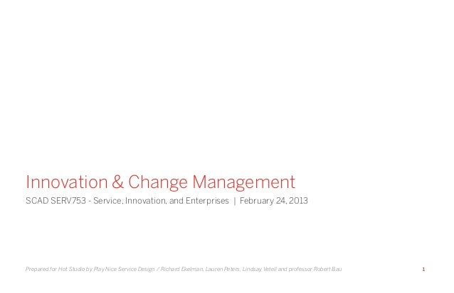 Innovation & Change Management