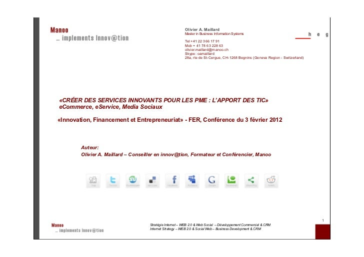 Olivier A. Maillard                                                          Master in Business Information Systems       ...