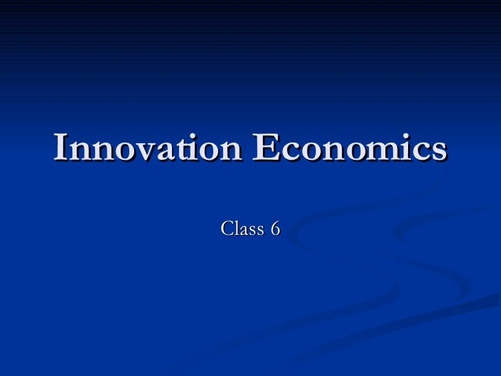 Innovation Class 6