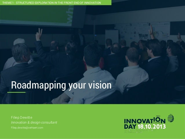 Roadmapping your vision  1