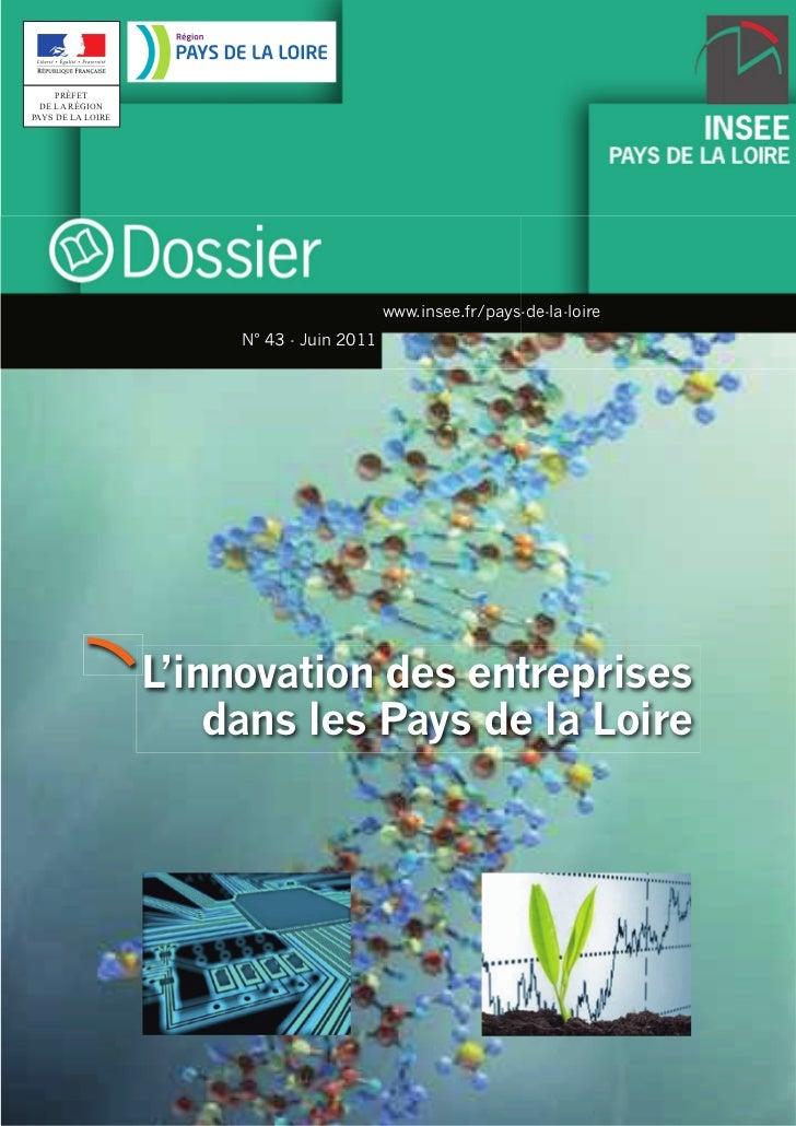 Innovation des entreprises dans les pays de la loire juin 2011 insee