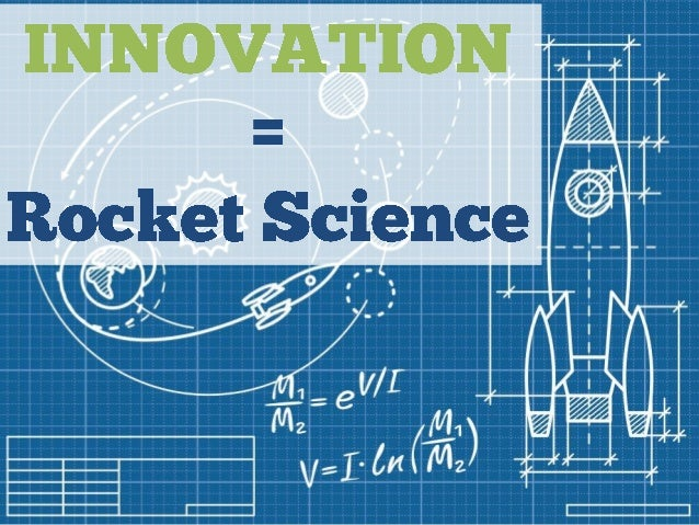 Innovation = Rocket Science (Building a Framework for Innovation in Banking)  | Carlisle & Gallagher Consulting Group's Sam Maule