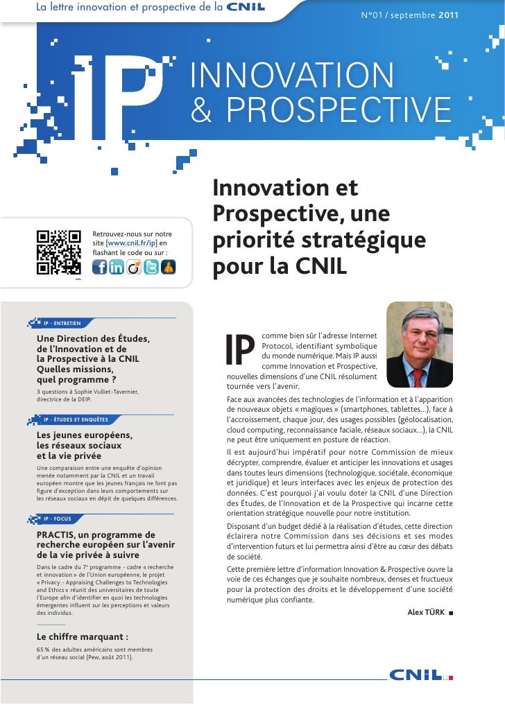 La lettre innovation et prospective de la                                                                                 ...