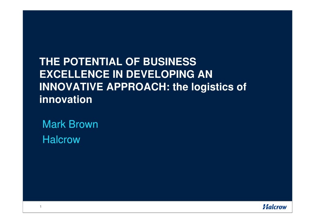 Innovation & Business Excellence