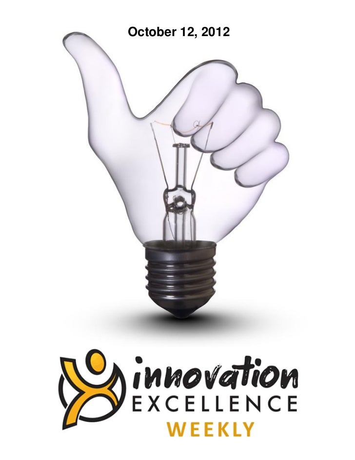 Innovation Excellence Weekly - Issue 2
