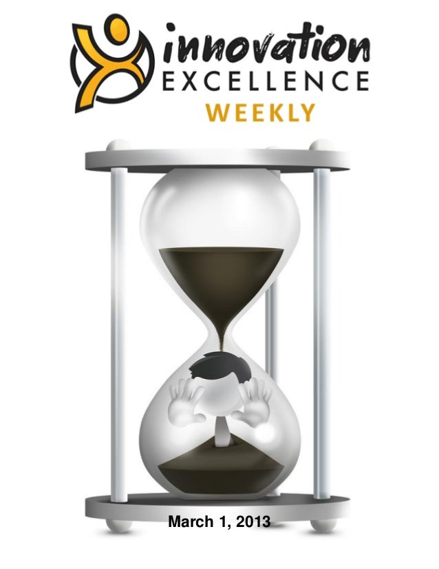 Innovation Excellence Weekly - Issue 22