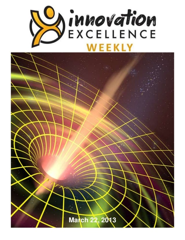 Innovation Excellence Weekly - Issue 25