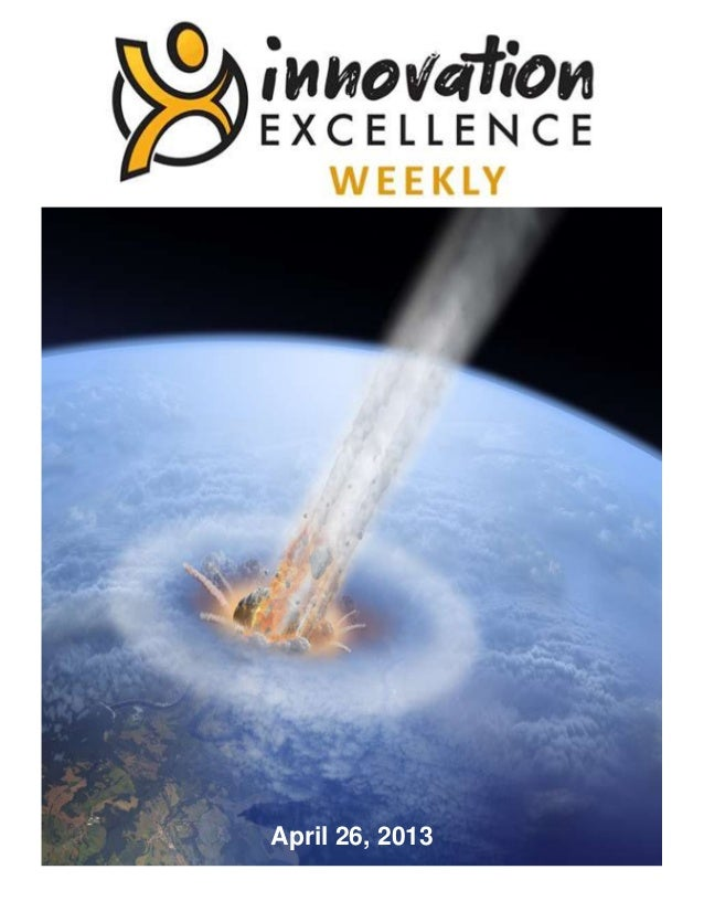 Innovation Excellence Weekly - Issue 30