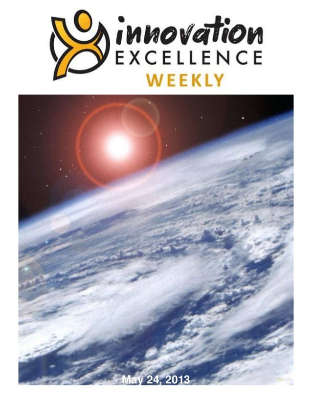 Innovation Excellence Weekly - Issue 34