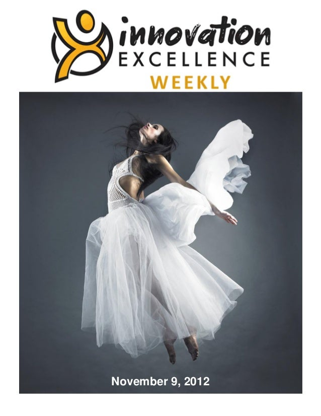 Innovation Excellence Weekly - Issue 6