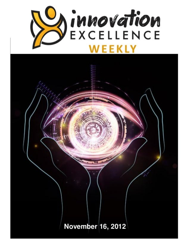 Innovation Excellence Weekly - Issue 7