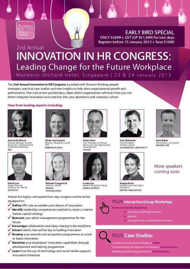 Innovation in HR 2013