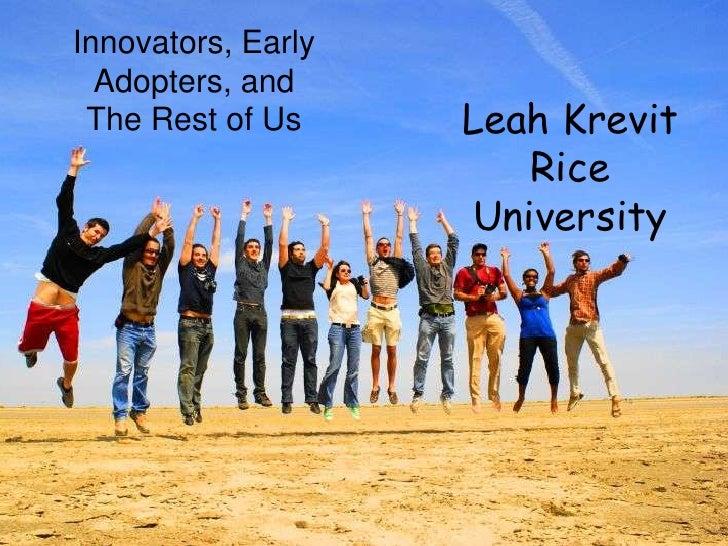 Innovation TLA 2010