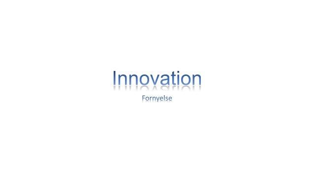Innovation manddag