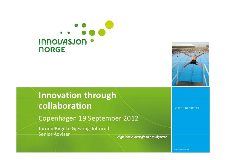 Innovation Norway: Innovation through collaboration