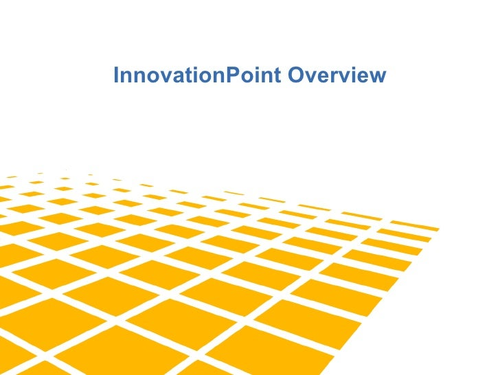 InnovationPoint online presentation
