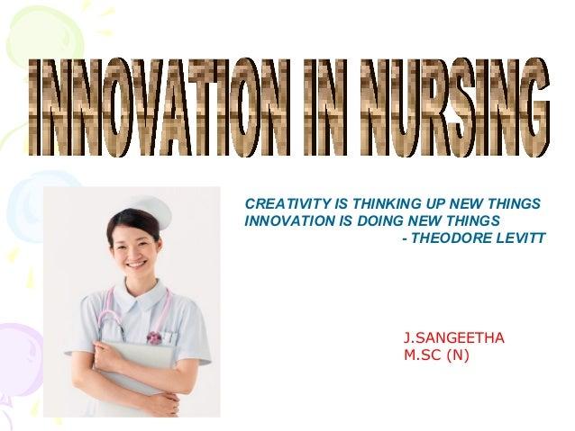Innovation in Nursing