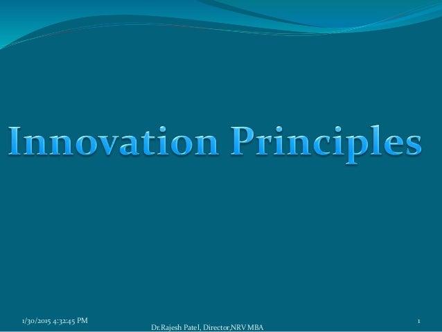 1/30/2015 4:32:45 PM 1 Dr.Rajesh Patel, Director,NRV MBA