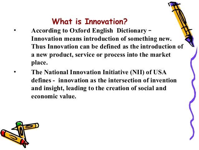 Innovative Classroom Definition ~ Innovation process models