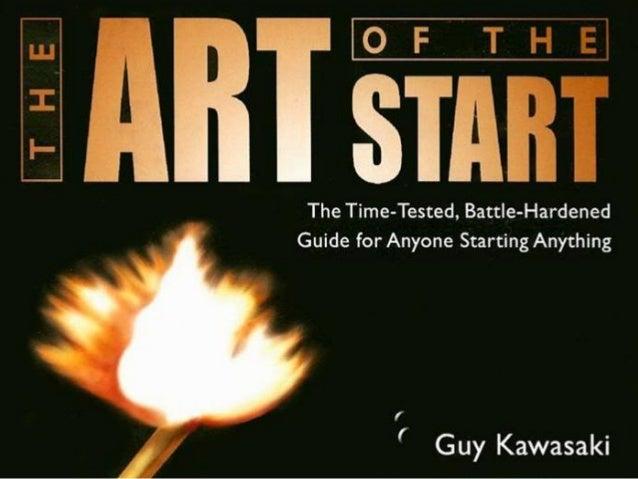 Innovation Reading Club - The Art of Start