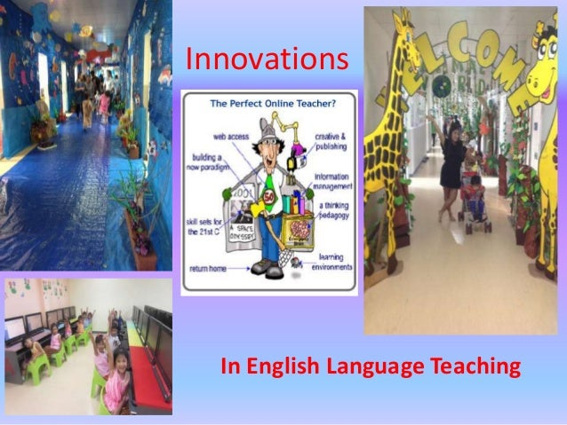 Innovations in ELT