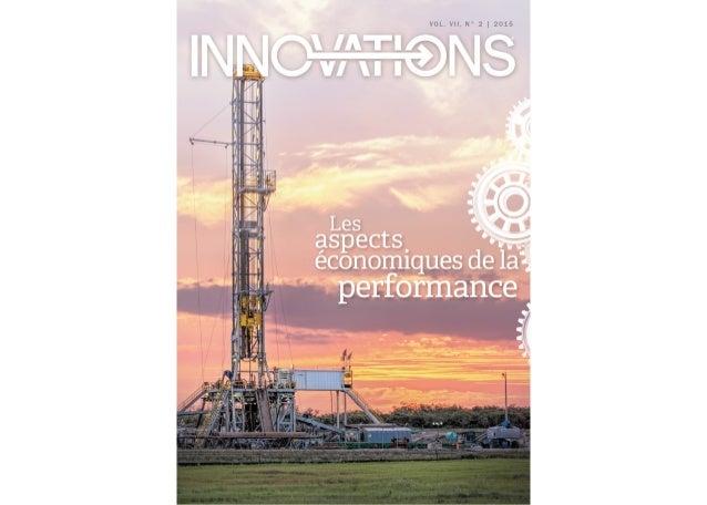 1 INNOVATIONS•VOL.VII,N°2•2015 2 | PERSPECTIVES DE LA DIRECTION Localisation: la stratégie gagnante 4 | PERSPECTIVE MOND...
