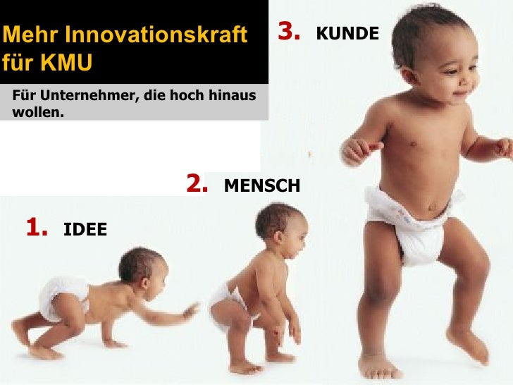 Mehr Innovationskraft              3.   KUNDEfür KMUFür Unternehmer, die hoch hinauswollen.                      2.   MENS...