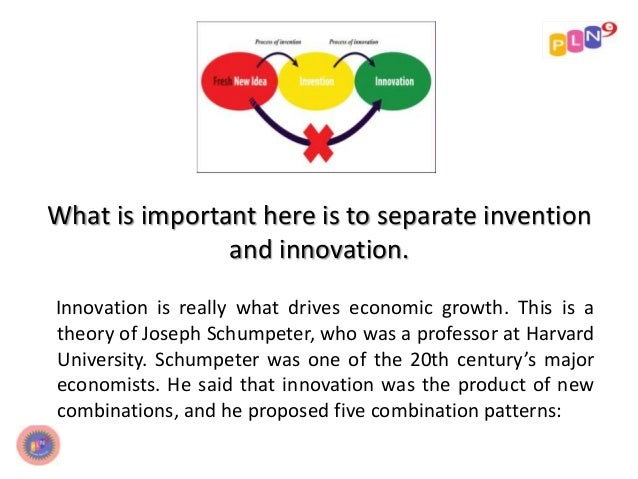 the schumpeterian theory of economic growth
