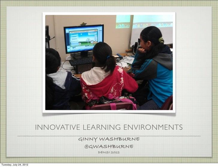 Innovative Learning DENSI2012