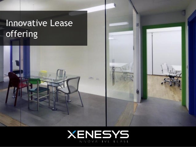 Offering - Innovative Lease