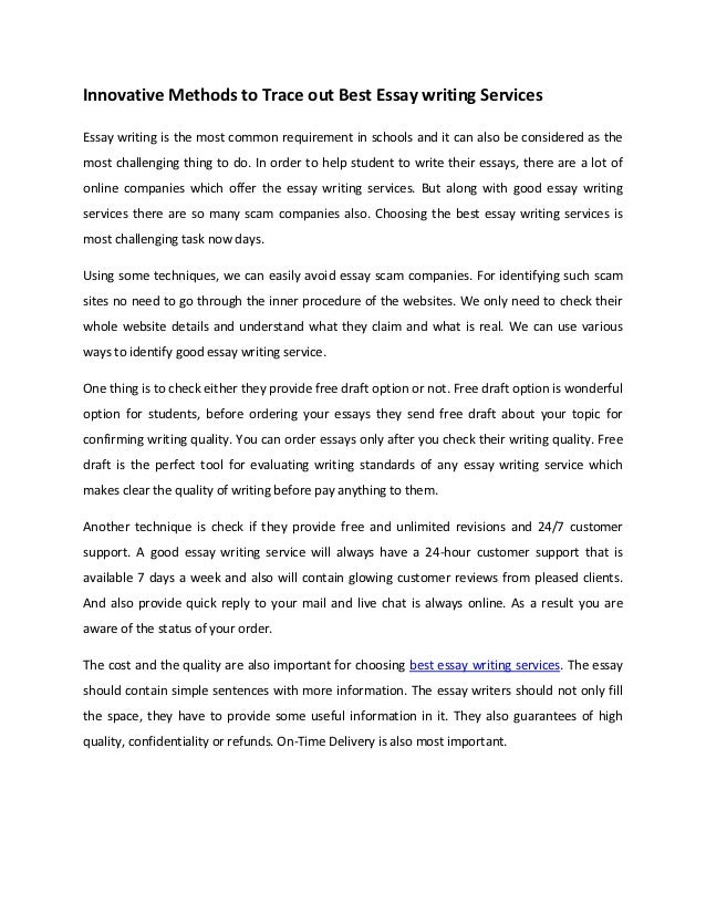 College Admission Essay-Writing Services