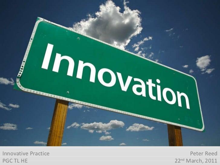 Innovative practice