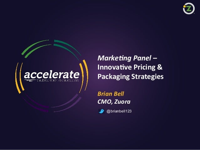 Innovative Pricing & Packaging Strategies (Accelerate East)
