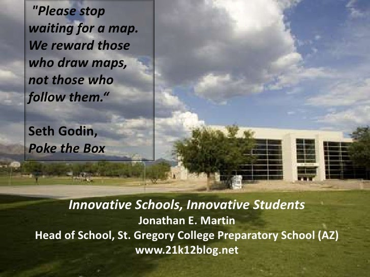 Innovative schools, innovative students for isast