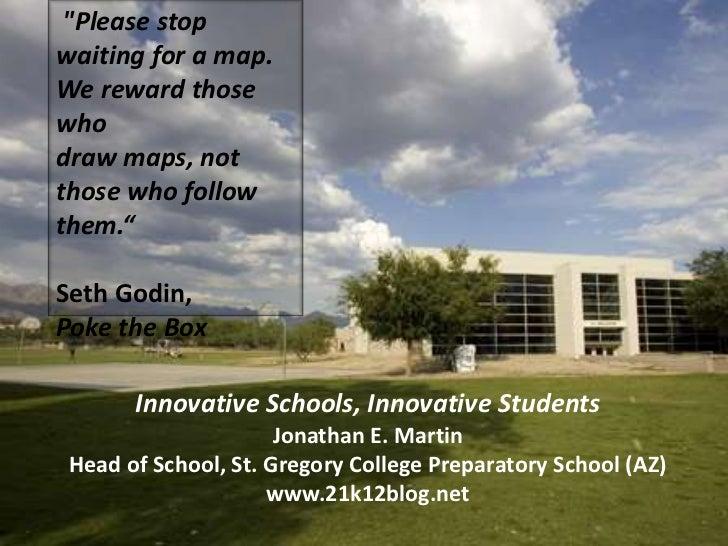 Innovative schools, innovative students for nais new