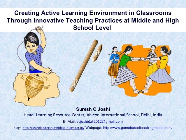 Innovative Classroom Teaching Practice ~ Innovative teaching practices at middle and high school level
