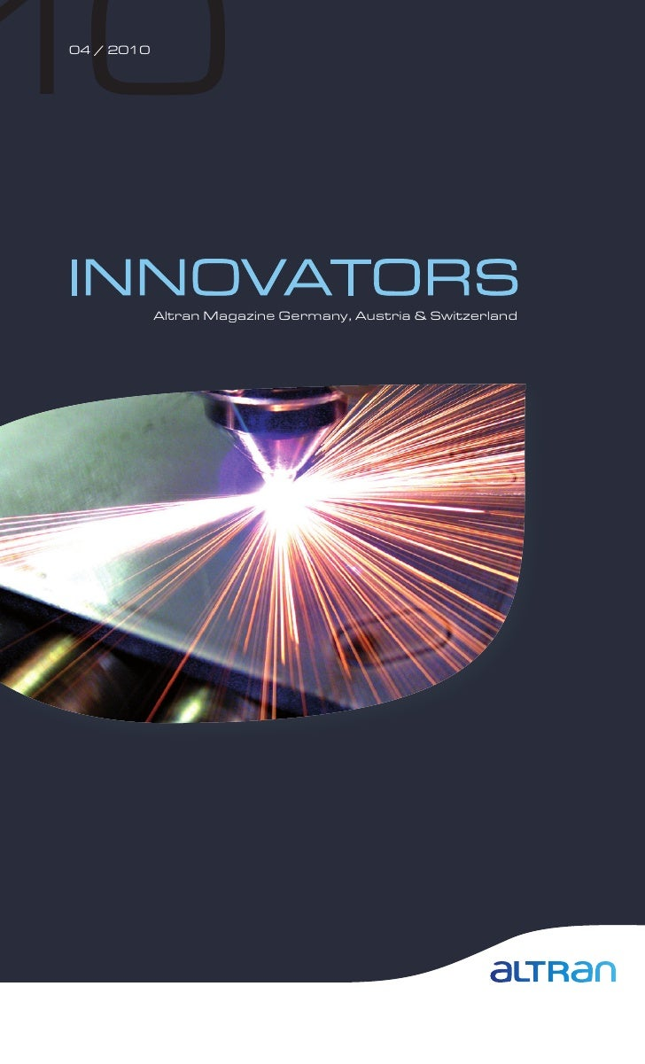 "Altran ""Innovators"" 04/2010"
